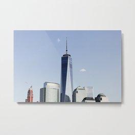 Sky Reach - World Trade Center - NYC Metal Print