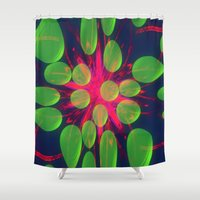 new year Shower Curtains featuring New Year New Dreams by lillianhibiscus