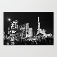 sin city Canvas Prints featuring Sin City by Bryan