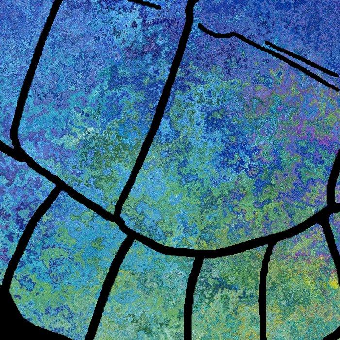 Colorful Sea Turtle I Leggings