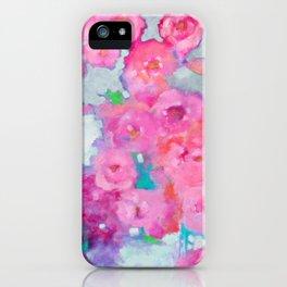 Rose Cascade iPhone Case