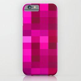 Pink Mosaic iPhone Case