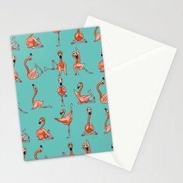 Flamingo Yoga Stationery Cards