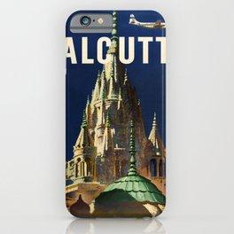 retro Calcutta iPhone Case