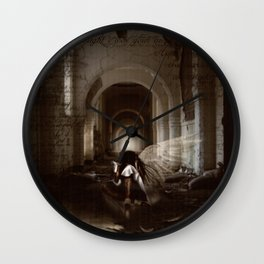 I Thought I Was Your Angel Wall Clock