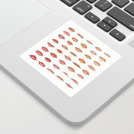 Lips II Sticker