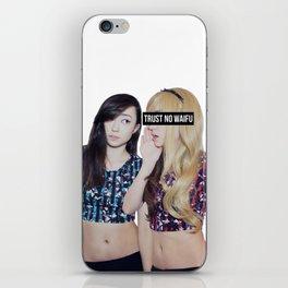 Trust No Waifu iPhone Skin
