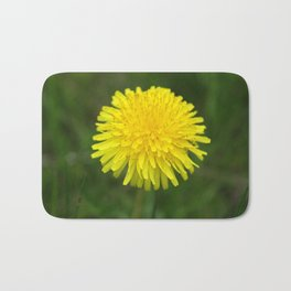 Yellow Dandilion Bath Mat