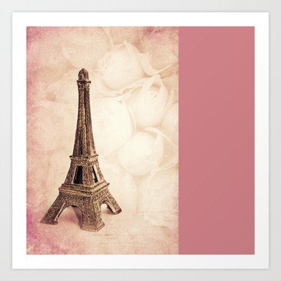 PARIS ~ MON AMOUR Art Print
