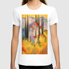 Settlement in the mountains T-shirt