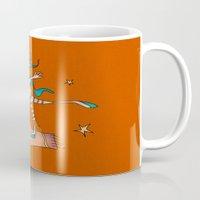 freedom Mugs featuring Freedom by Catru