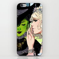 wicked iPhone & iPod Skins featuring Wicked by Natalie Nardozza