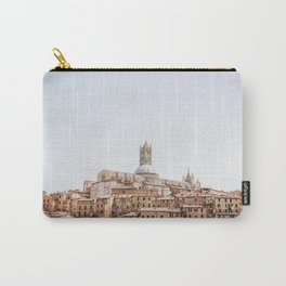Photo of the Italian palio town Siena, Italy | Fine Art Colorful Travel Photography | Carry-All Pouch