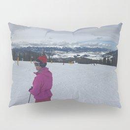 Keystone Mountain Panorama Pillow Sham