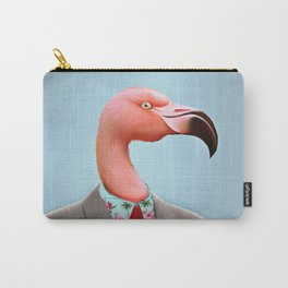 Pink Flamingo's Carry-All Pouch