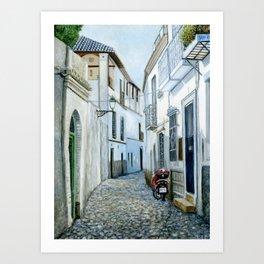 Albaicín, Granada, Spain Art Print