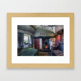 Olde Country Home Framed Art Print