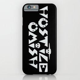 Hostile Omish Logo [White] iPhone Case