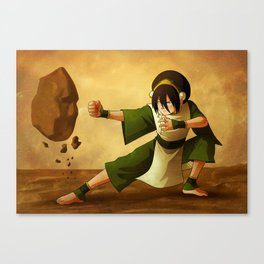 Toph Beifong Artwork Canvas Print