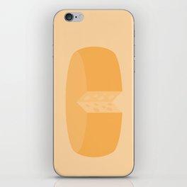 #20 Cheese Wheel iPhone Skin