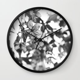 Nature's Glass Wall Clock