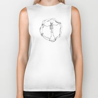 anarchy Biker Tanks featuring Anarchy by LvsD