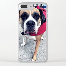 Gimme A Kiss Clear iPhone Case