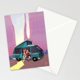 Van Life Stationery Cards