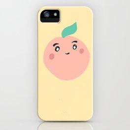 I'm A Peach iPhone Case