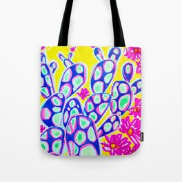 Aim to Misbehave Cactus Tote Bag