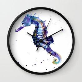 Seahorse Splendor Wall Clock