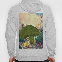 Cute fairy sitting on a mushroom Hoody