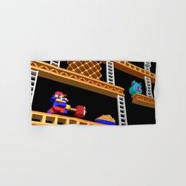 Inside Donkey Kong stage 2 Hand & Bath Towel