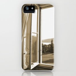 Another window in Tuscany iPhone Case