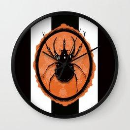 Juicy Beetle - Halloween Wall Clock