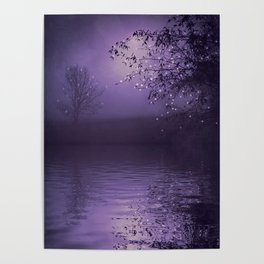 SONG OF THE NIGHTBIRD - LAVENDER Poster