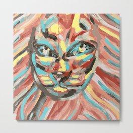 lioness Metal Print
