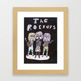 Rock 'n' Roll! Framed Art Print
