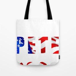 Pete Buttigieg 2020 for President Campaign Patriotic Tote Bag