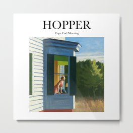 Hopper - Cape Cod Morning Metal Print