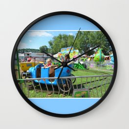 Jalopy Junction 2 Wall Clock