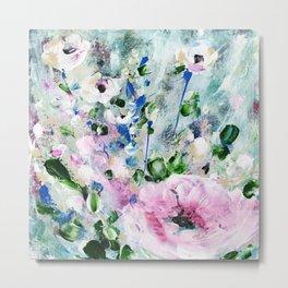 Shea's Blooms by Kathy Morton Stanion Metal Print
