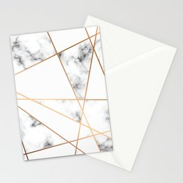 Marble Geometry 054 Stationery Cards