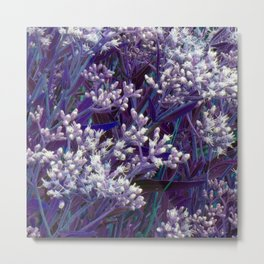 Bunches of Tiny Flowers Metal Print