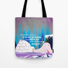 It is possible 5 Tote Bag