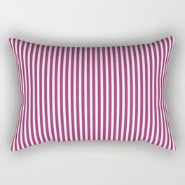 Festival Fuchsia Stripes Rectangular Pillow