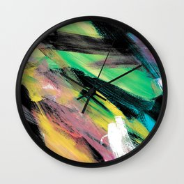 Abstract Artwork Colourful #1 Wall Clock