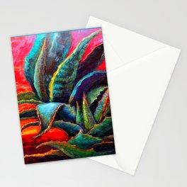 WESTERN DESERT BLUE AGAVE Stationery Cards
