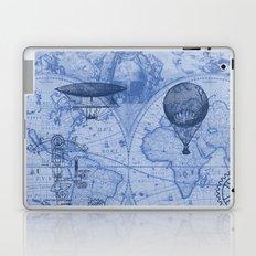 Steampunks in Blue Laptop & iPad Skin