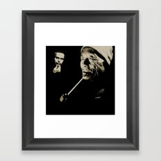 Juxtapose XV Framed Art Print